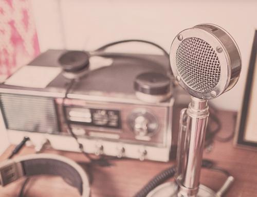 O podróży rozmawialiśmy w radio. || Audio