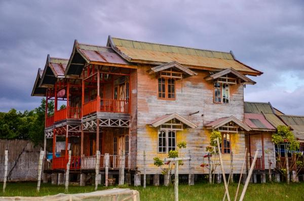 Guesthouse Sapo Belen w Singkil na Sumatrze. Singkil, Sumatra, Indonezja
