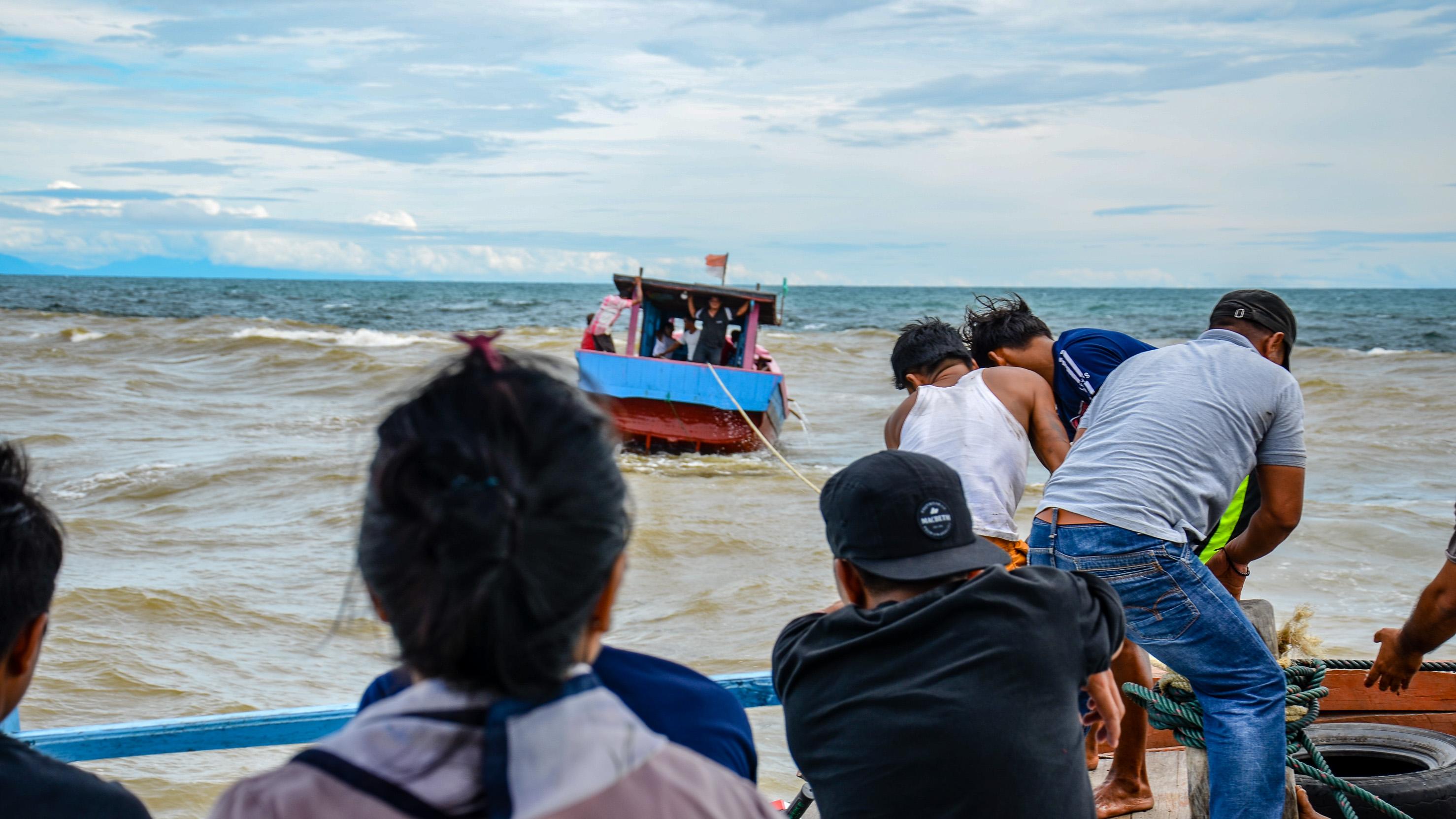 Pomoc morska w akcji - wracamy do Singkil