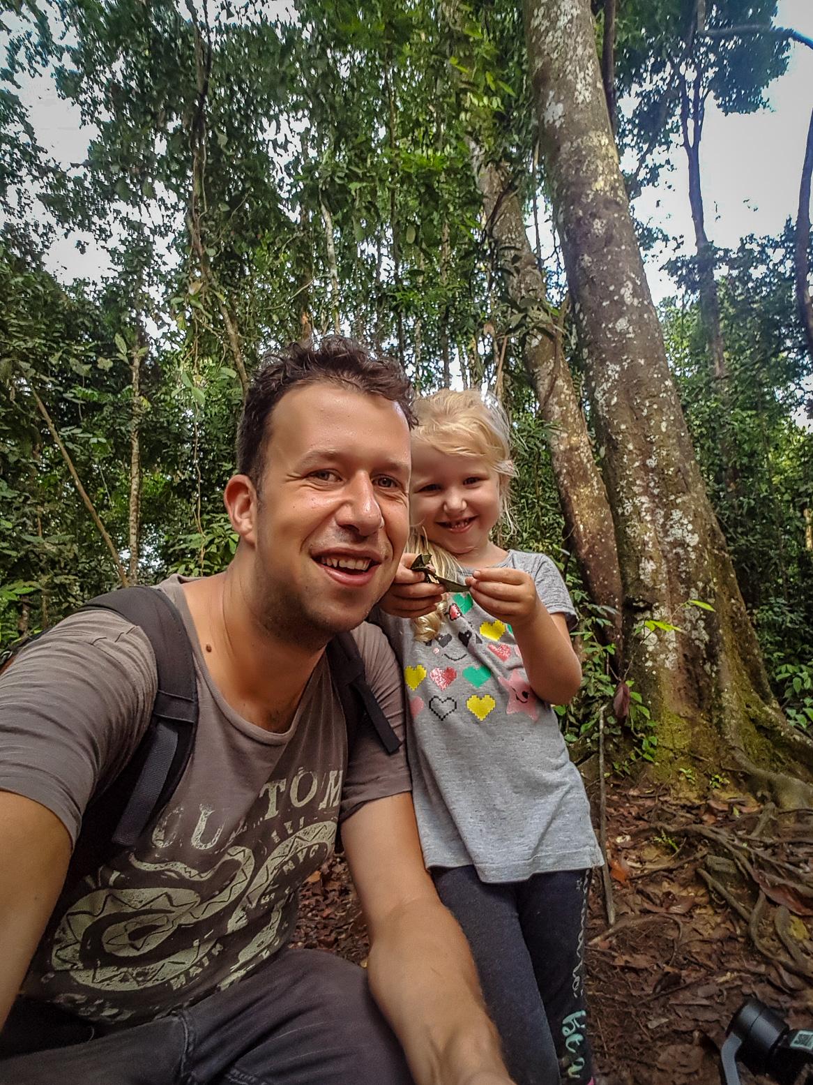Długie podróże z dziećmi - tym razem podróż przez Sumatrzańską dżunglę